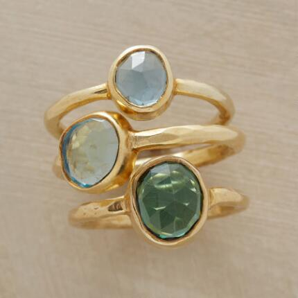BODRUM RING TRIO