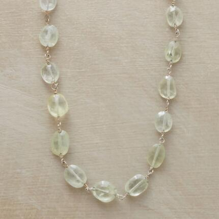 PURELY PREHNITE NECKLACE