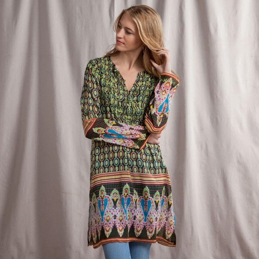 DRISHTI EMBROIDERED TUNIC