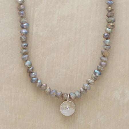 DIAMOND SEQUIN NECKLACE