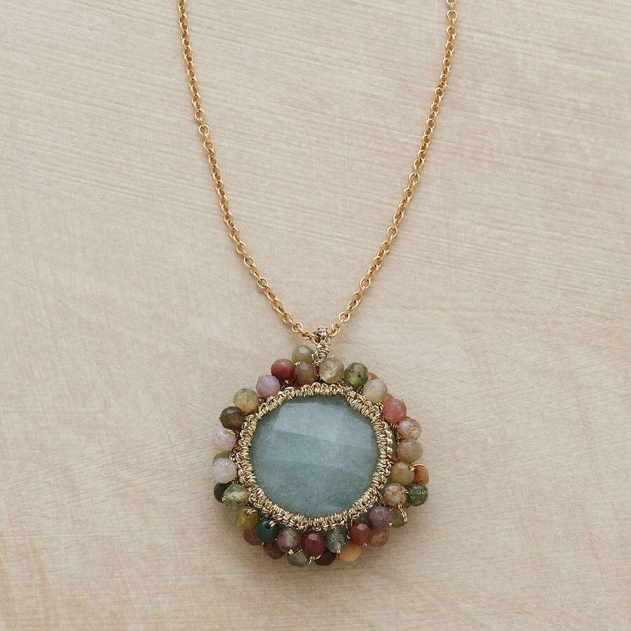 FANCY JASPER FRILLS NECKLACE