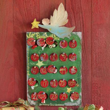 HOLIDAY ANGEL ADVENT CALENDAR