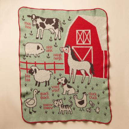 RED BARN BLANKET