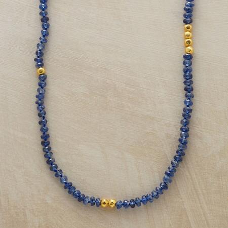 NEVER ENDING INDIGO NECKLACE