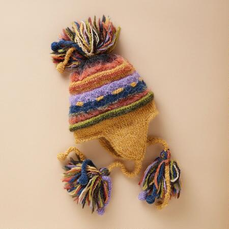 WINTER RAINBOW HAT