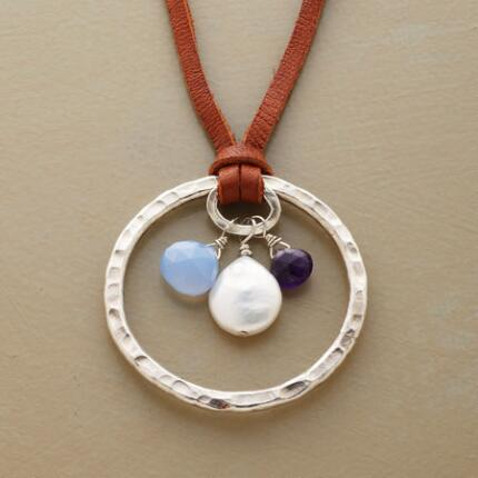 CELESTIAL CIRCLE NECKLACE