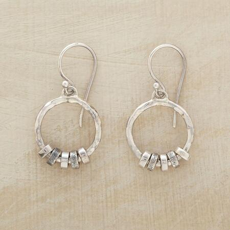 CINQUE SILVER EARRINGS