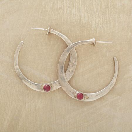 TEMPTING TOURMALINE HOOPS