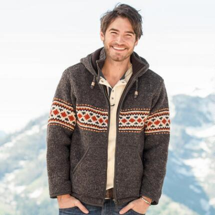 BERGEN HOODED SWEATER