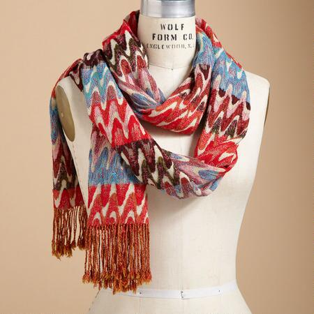 COLOR WAVES SCARF