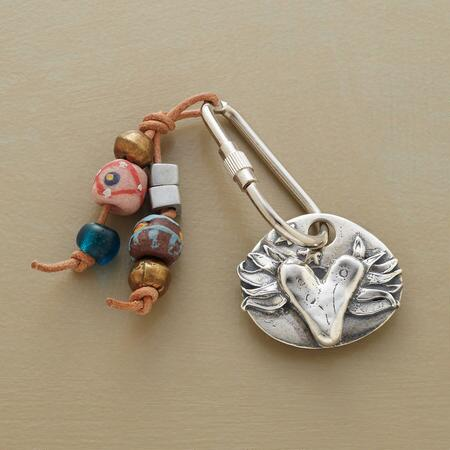 KEEP THE FAITH KEYRING