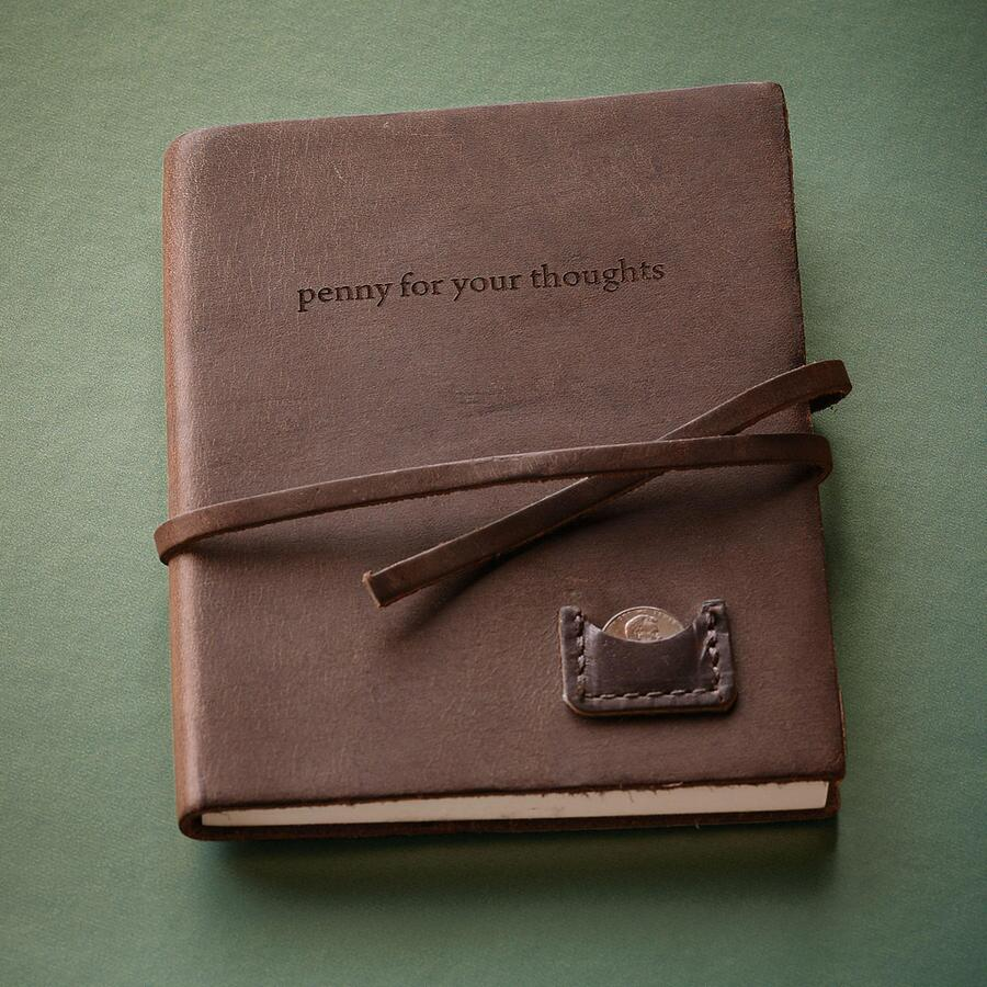 LEATHER PENNY JOURNAL