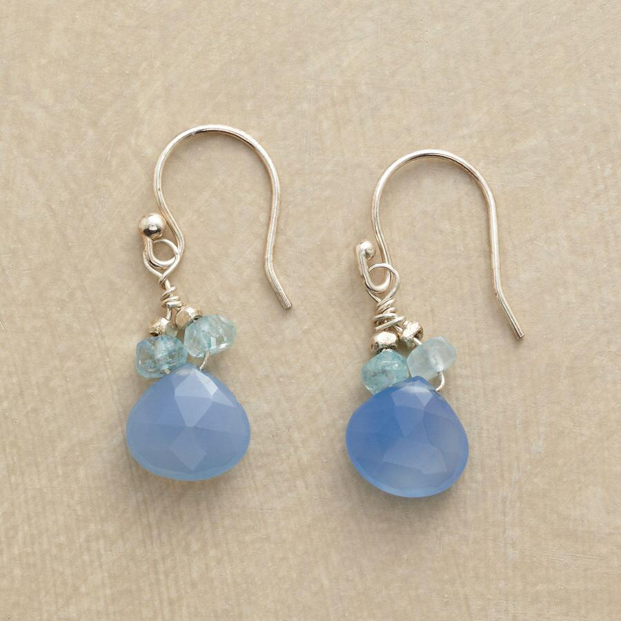 BLUE ON BLUE EARRINGS