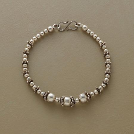 TRAIL OF SILVER BRACELET