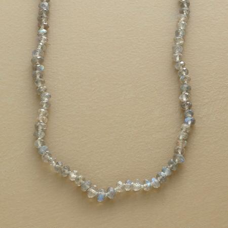 LONG LIFE LABRADORITE NECKLACE