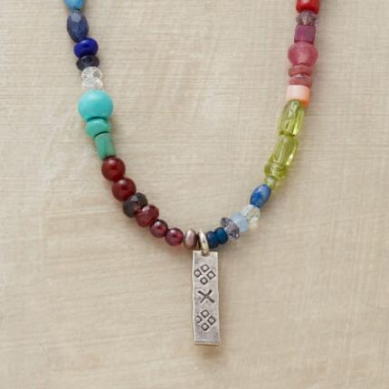 RAINBOW OF COLOR NECKLACE