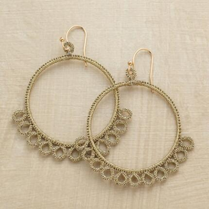 LACE COVERED HOOPS