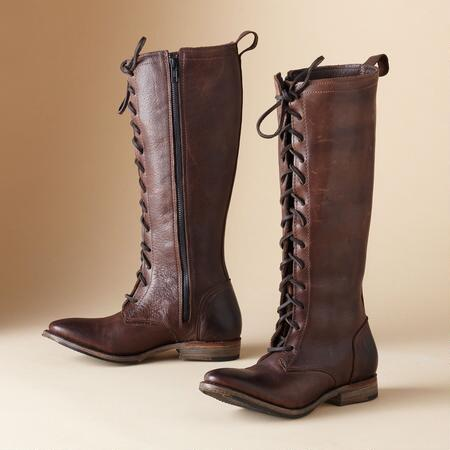 VSC EUNICE LACE-UP RIDING BOOTS