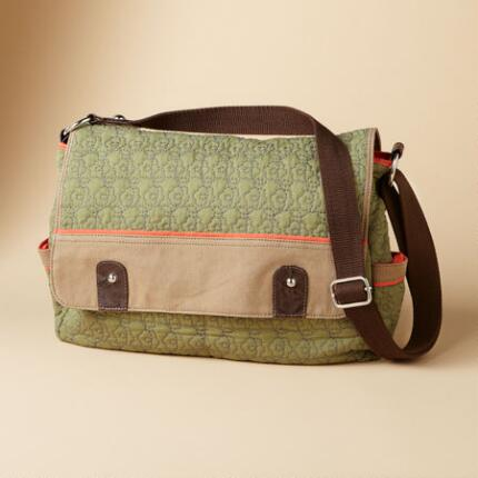GREEN LIGHT MESSENGER BAG