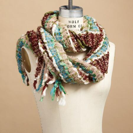 WOVEN & WONDERFUL WOOL SCARF