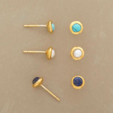 MODA EARRING TRIO, SET OF 3