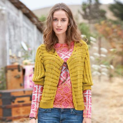 DROP NEEDLE CARDIGAN