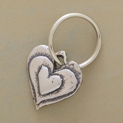 ROBUST HEART KEYRING