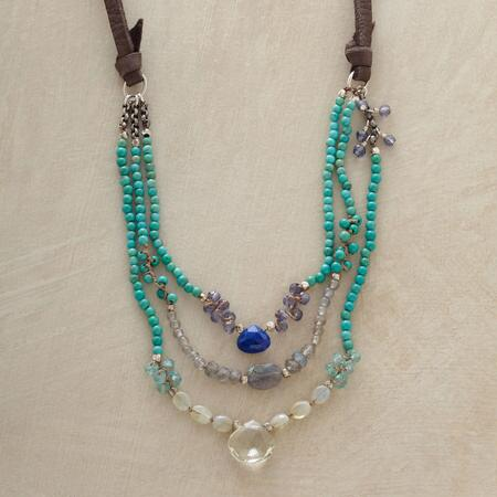 MOODY BLUES NECKLACE