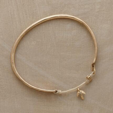 DIAMOND LEAF BANGLE