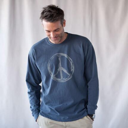 LONG SLEEVE GRAFFITI PEACE TEES