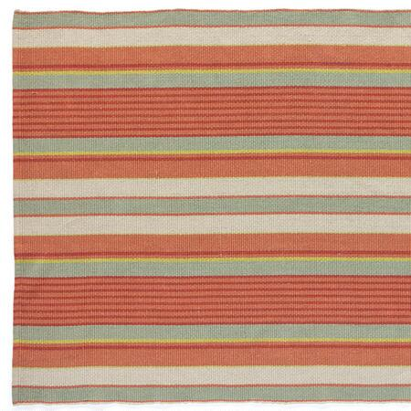 HADLEY STRIPED COTTON MAT, LARGE