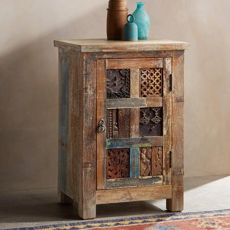 ONE-OF-A-KIND CARVED CABINET