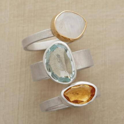 ROCK GARDEN RING TRIO