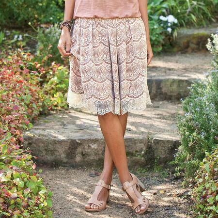 GAIA LACE SKIRT
