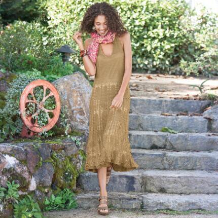 ARIELLE CROCHET DRESS