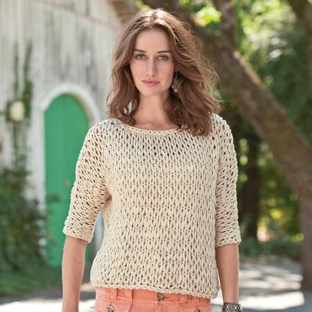 FAVORITE HANDKNIT SLOUCH PULLOVER