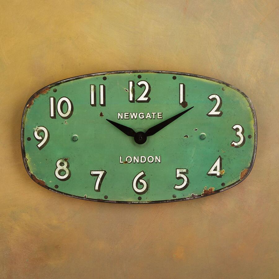 GREENGAGE WALL CLOCK
