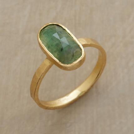 Bring your look to life with this Jennifer Dawes emerald pool ring's verdant tones