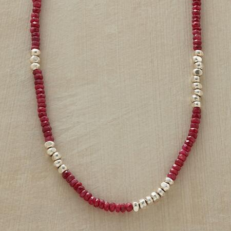 RED RACER NECKLACE