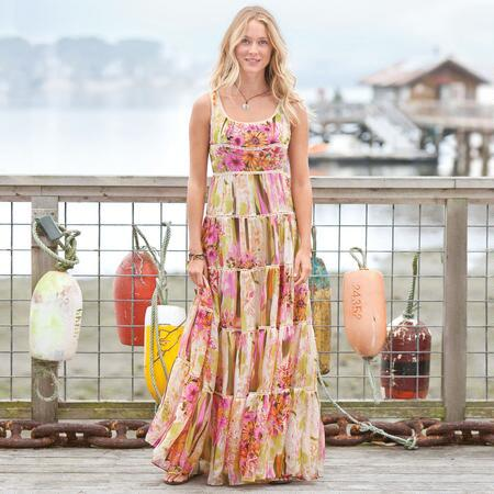 FLOWER TERRACE DRESS