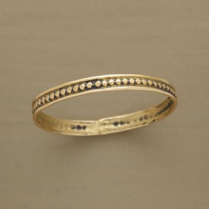 DOTTED GOLD BAND