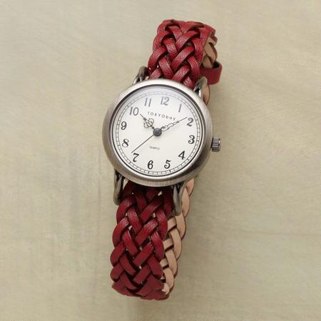 WOVEN IN TIME WATCH