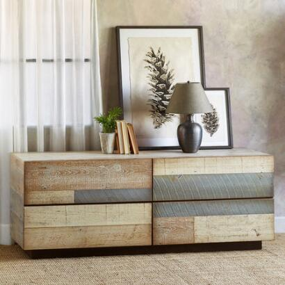 PACIFICA BARNWOOD LOW DRESSER
