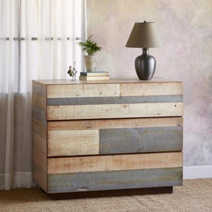 PACIFICA BARNWOOD HIGHBOY DRESSER