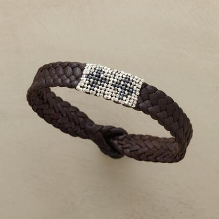 BRAIDED BEAD BRACELET