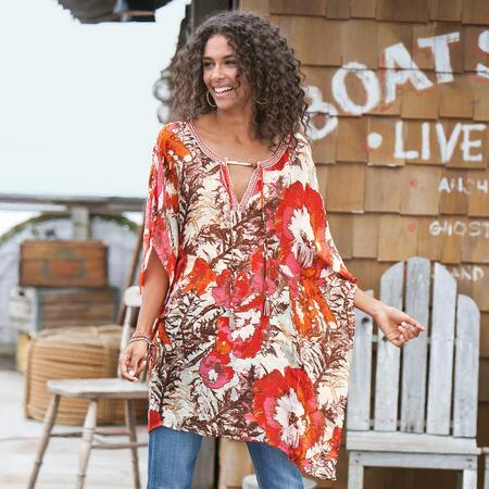 CANYON ROSE CAFTAN