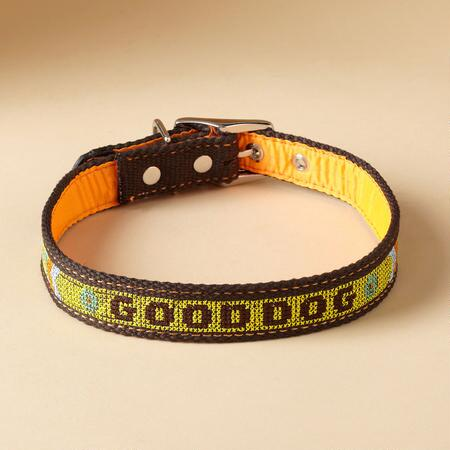 """GOOD DOG"" DOG COLLAR"