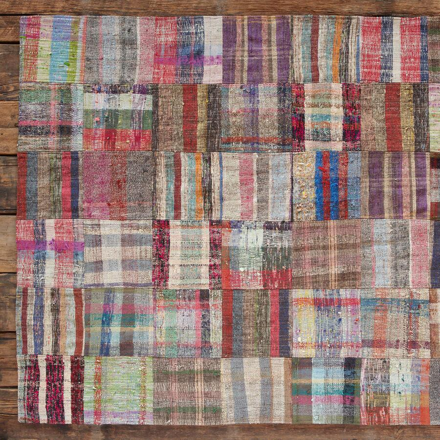 TURKISH DELIGHTS PATCHWORKRUG 8X10