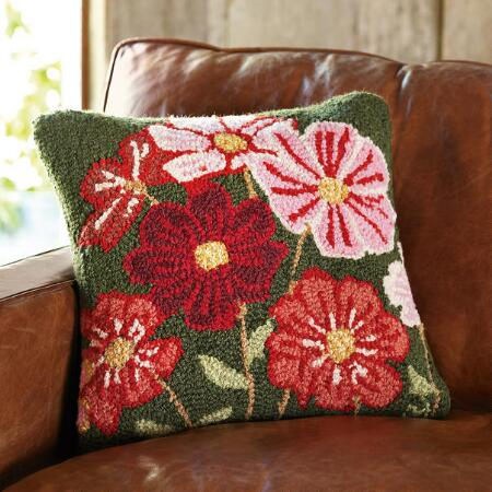 COSMOS IN BLOOM PILLOW