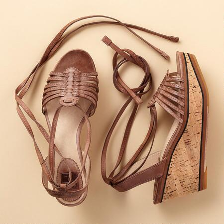 CARLIE WEDGE SANDAL